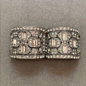 J Crew Embellished Cuff Bracelet
